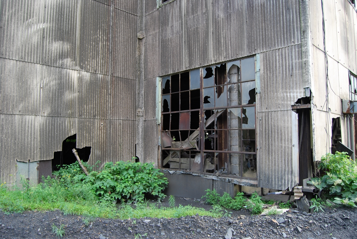 Exploring the Abandoned Building St. Nicholas Coal Breaker in Mahanoy, Pennsylvania