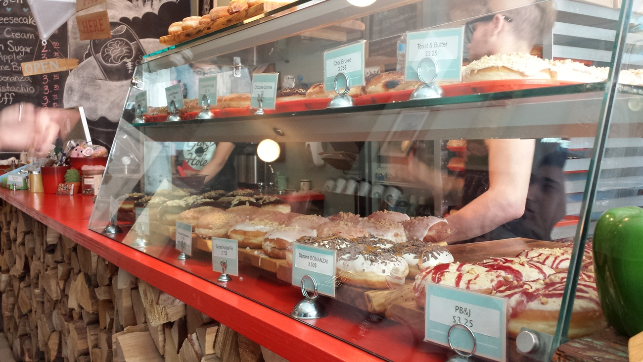 Glory Hole Doughnuts in Toronto, Canada