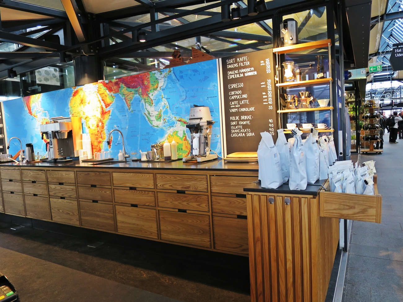The Coffee Collective in Copenhagen, Denmark