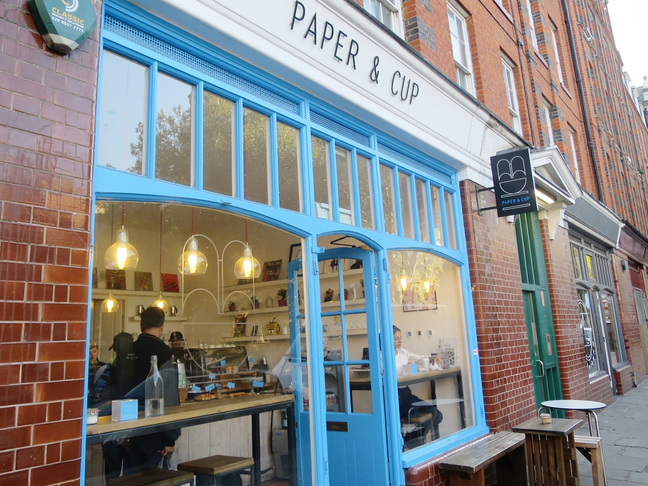 Paper & Cup London, England Shoreditch