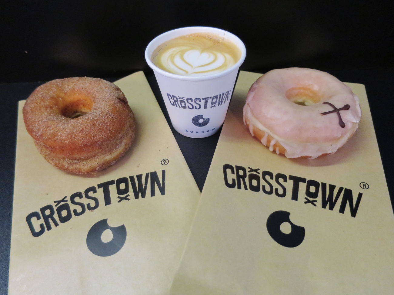 Crosstown Doughnuts in London, England